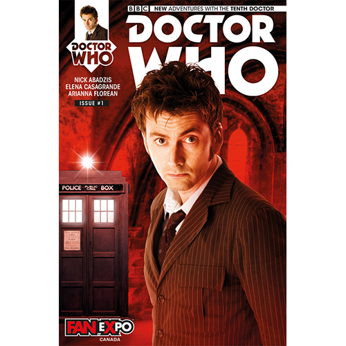 Doctor Who: The 10th Doctor #1 (Limited Edition)