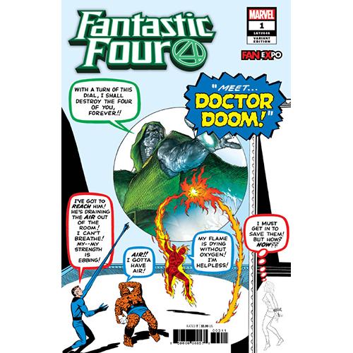 Fantastic Four #1 Convention Exclusive