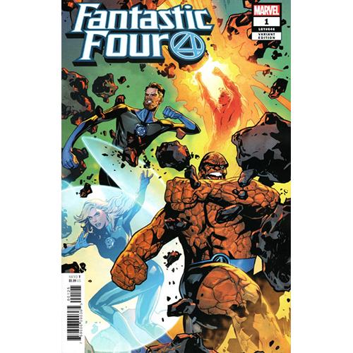 Fantastic Four #1 1:25 Lapacchino Retailer Incentive