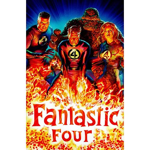 Fantastic Four #1 1:200 Alex Ross Virgin Retailer Incentive