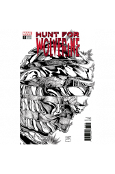 Hunt For Wolverine #1 1:50 Steve McNiven B/W Retailer Incentive