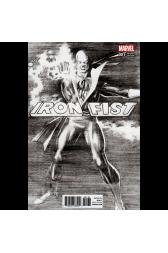Iron Fist #1 1:100 Ross B/W Retailer Incentive