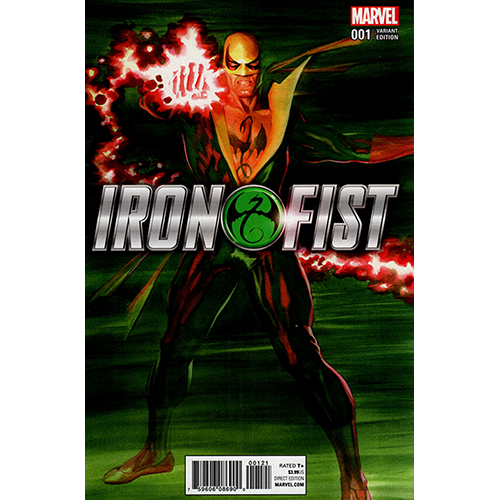 Iron Fist #1 1:50 Ross Color Retailer Incentive