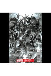 Marvel Legacy #1 1:100 Alex Ross B/W Retailer Incentive