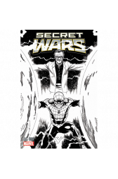 Secret Wars #1 (Limited Edition) Sketch Cover