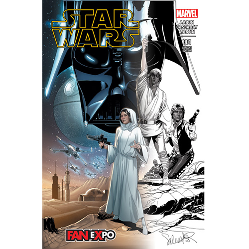 Star Wars #1 (Limited Edition) Partial Sketch Cover
