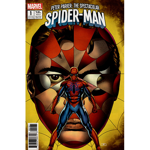 Peter Parker: The Spectacular Spider-Man #1 1:25 Cassaday Retailer Incentive