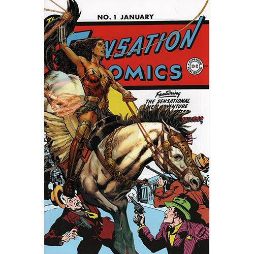 Sensation Comics #1 Convention Acetate Exclusive