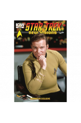 Star Trek New Visions Photo Novel William Shatner Convention Exclusive