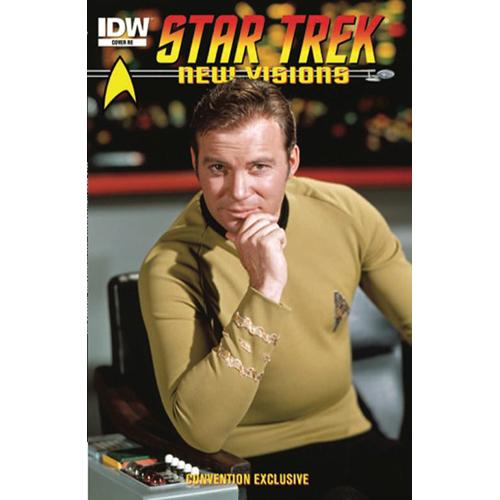 Star Trek New Visions Photo Novel William Shatner Convention Exclusive