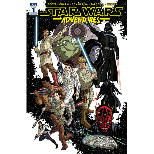 Star Wars Adventures #1 Convention Exclusive