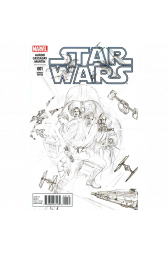 Star Wars #1 Alex Ross 1:200 Retailer Sketch Variant