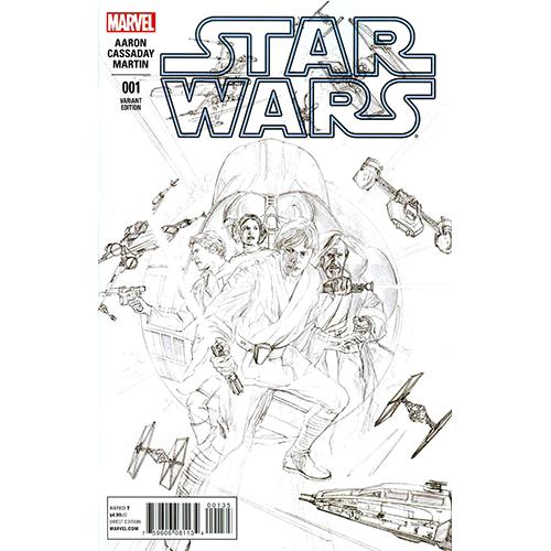 Star Wars #1 Alex Ross 1:200 Retailer Sketch Variant