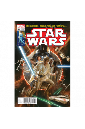 Star Wars #1 Alex Ross 1:50 Retailer Variant