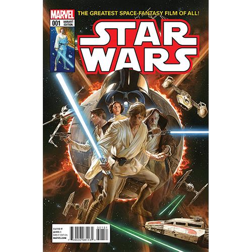 Star Wars #1 Alex Ross 1:50 Retailer Variant