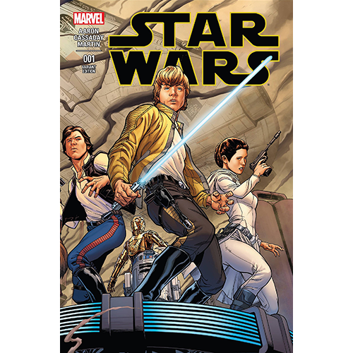 Star Wars #1 Joe Quesada 1:100 Retailer Variant