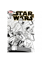 Star Wars #1 Joe Quesada 1:500 Retailer Sketch Variant