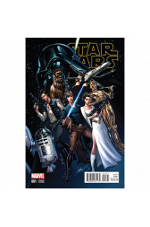 Star Wars #1 J Scott Campbell 1:50 Retailer Variant
