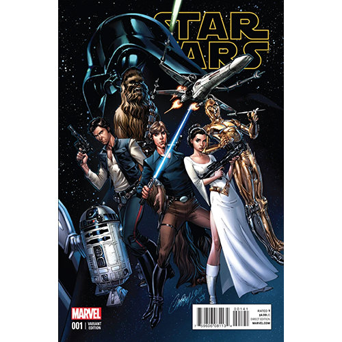 Star Wars #1 J Scott Campbell 1:50 Retailer Variant
