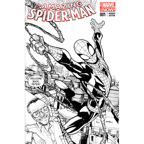 The Amazing Spider-Man #1 Humberto Ramos Sketch Cover (Limited Edition)