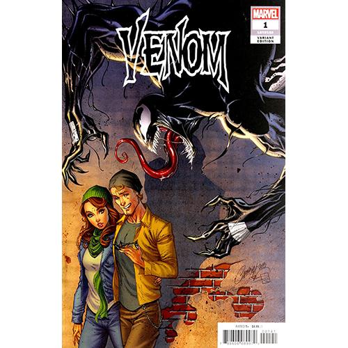 Venom #1 1:50 J Scott Campbell Retailer Incentive