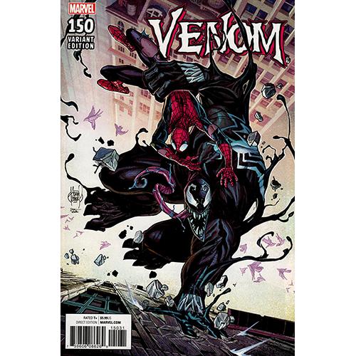 Venom #150 1:100 Kubert Retailer Incentive