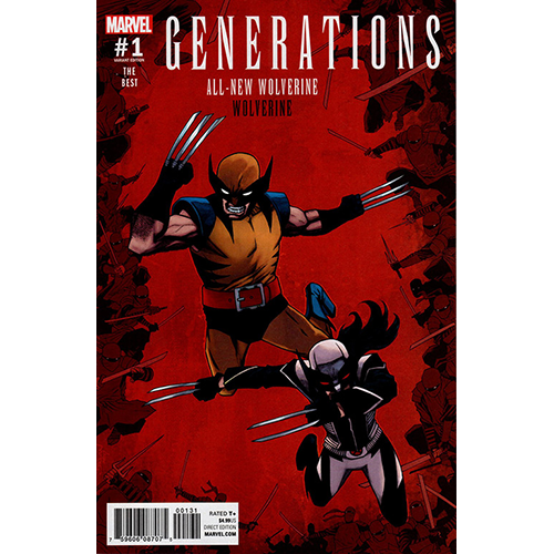 Generations: All New Wolverine Wolverine #1 1:25 Shalvey Retailer Incentive