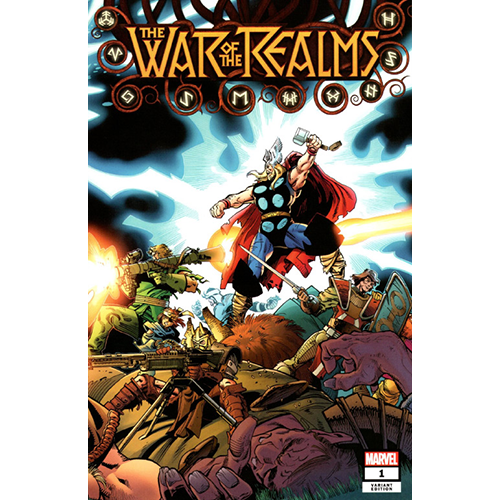 The War Of The Realms #1 1:200 Walter Simonson Retailer Incentive