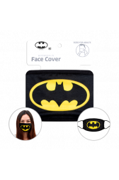 Officially Licenced Batman Face Mask. Sized for adults.