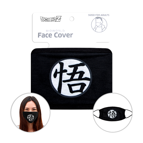 Officially Licenced Dragon Ball Z Face Mask. Sized for adults.