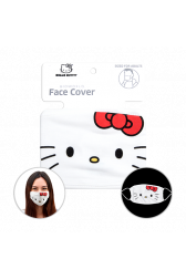 Officially Licenced Hello Kitty Face Mask. Sized for adults.
