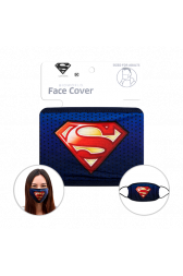 Officially Licenced Superman Face Mask. Sized for adults.