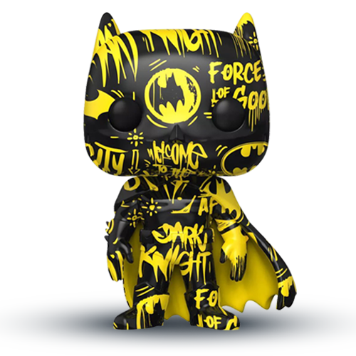 Funko POP! Heroes: DC - Batman Black and Yellow with Case (Artist Series) (Special Edition)