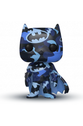 Funko POP! Heroes: DC - Batman Dark Blue with Case (Artist Series)(Special Edition)