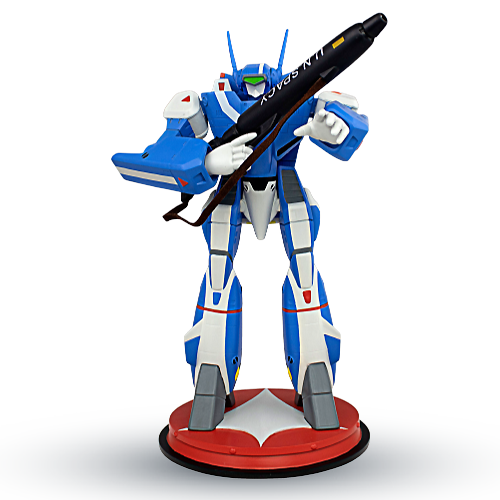 ROBOTECH VF-1J Max Sterling Battloid 1/42 Scale Polystone Statue