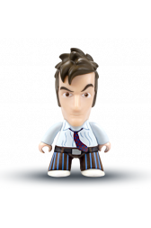 TITAN 10th Doctor Vinyl Figure (David Tennant – The Runaway Bride)