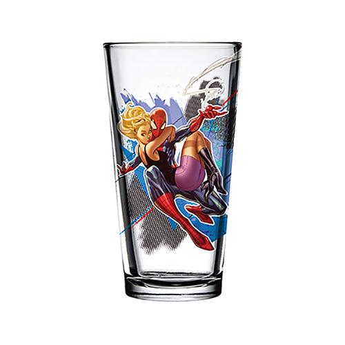 Spider-Man & Gwen Stacey 16 oz Toon Tumbler